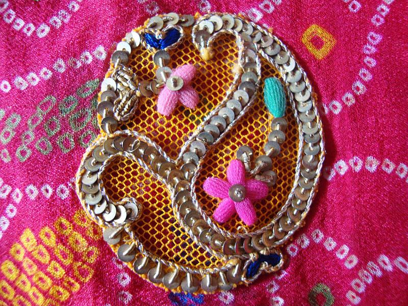 Rajasthani Embroidery Work
