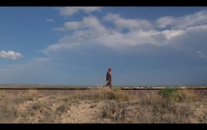 How did Travis get the band name idea - Film Paris, Texas - Wim Wenders