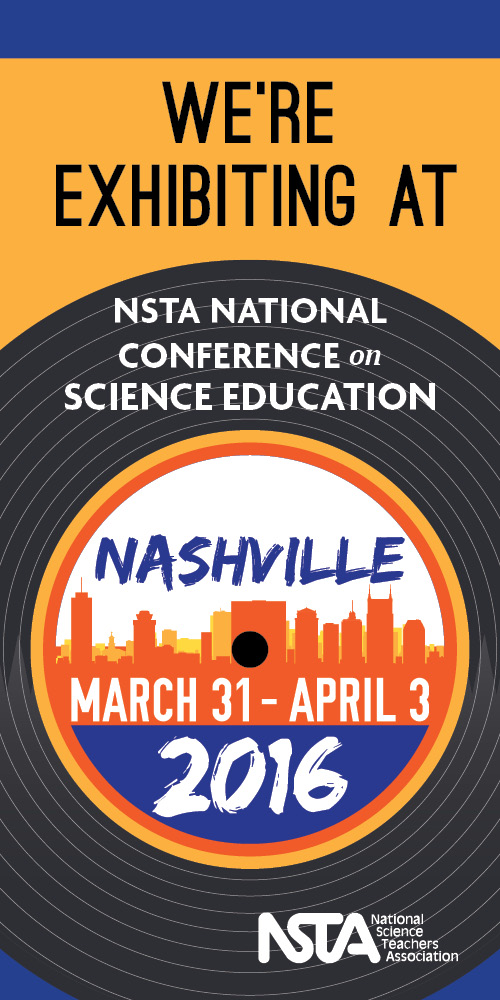 Find me at NSTA!