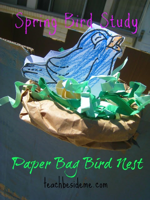 Spring bird craft