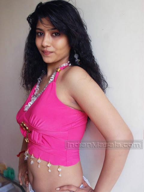 Unseen Showing Actress Liya Sree In Pink Pretty