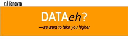 DATA eh? identifier with slogan we want to take you higher