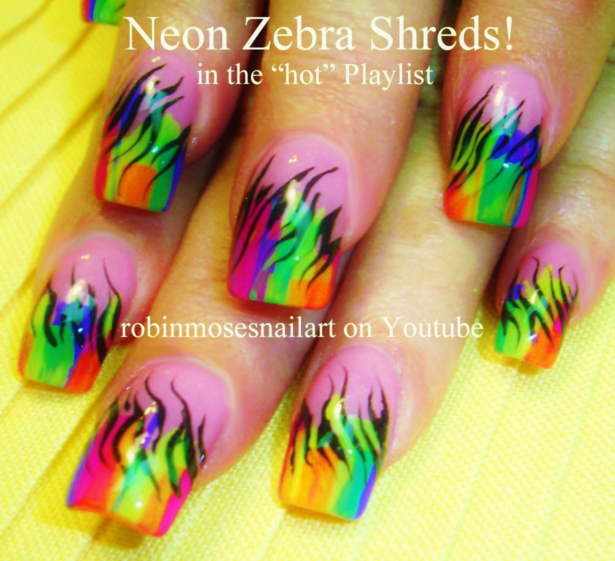 Do it yourself nail art minis rainbow brights crayola crayon nail robin moses nail art may view images solutioingenieria Images