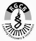 INVITED APPLICATION AT RAJIV GANDHI CENTRE FOR BIOTECHNOLOGY IN JANUARY 2014 APPLY ONLINE ON @ www.rgcb.res.in