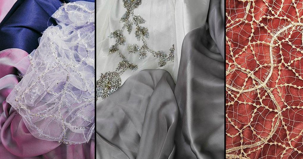 Telas para vestidos de novia en independencia