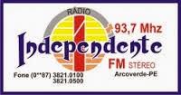 Rádio Independente FM 93,7 Arcoverde PE
