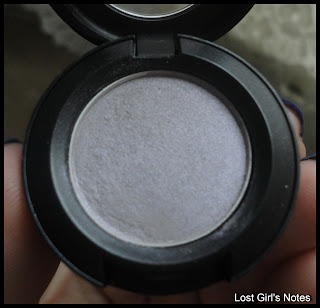 mac crystal frost eye shadow swatches