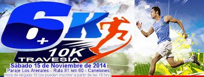 10k y 6k Los Arenales (Canelones, 15/nov/2014)