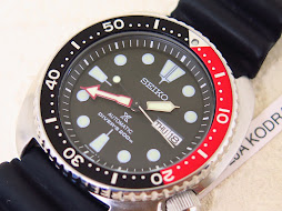 SEIKO DIVER NEW TURTLE - SEIKO DIVER SRP789 - BLACK DIAL RED BLACK BEZEL - AUTOMATIC 4R36