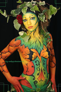 Art Body Painting