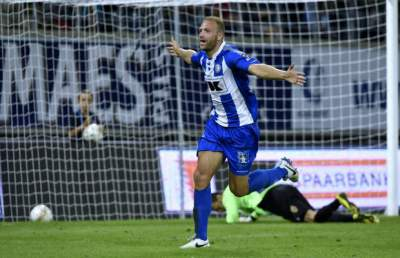Depoitre breaks barren spell in front of Spurs scout