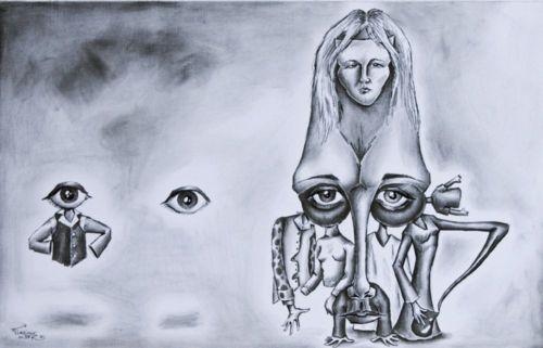 Gente y Mirada. / Leute und Blick