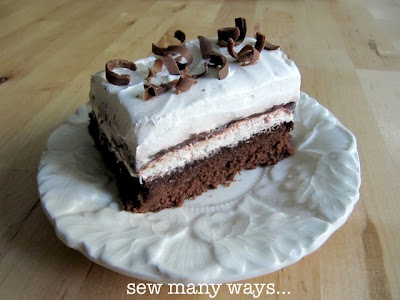 brownie cream cheese pudding bars