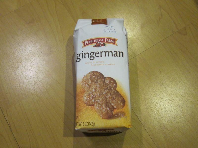 Pepperidge Farm Gingerbread Cookies Pepperidge Farm s Gingerman