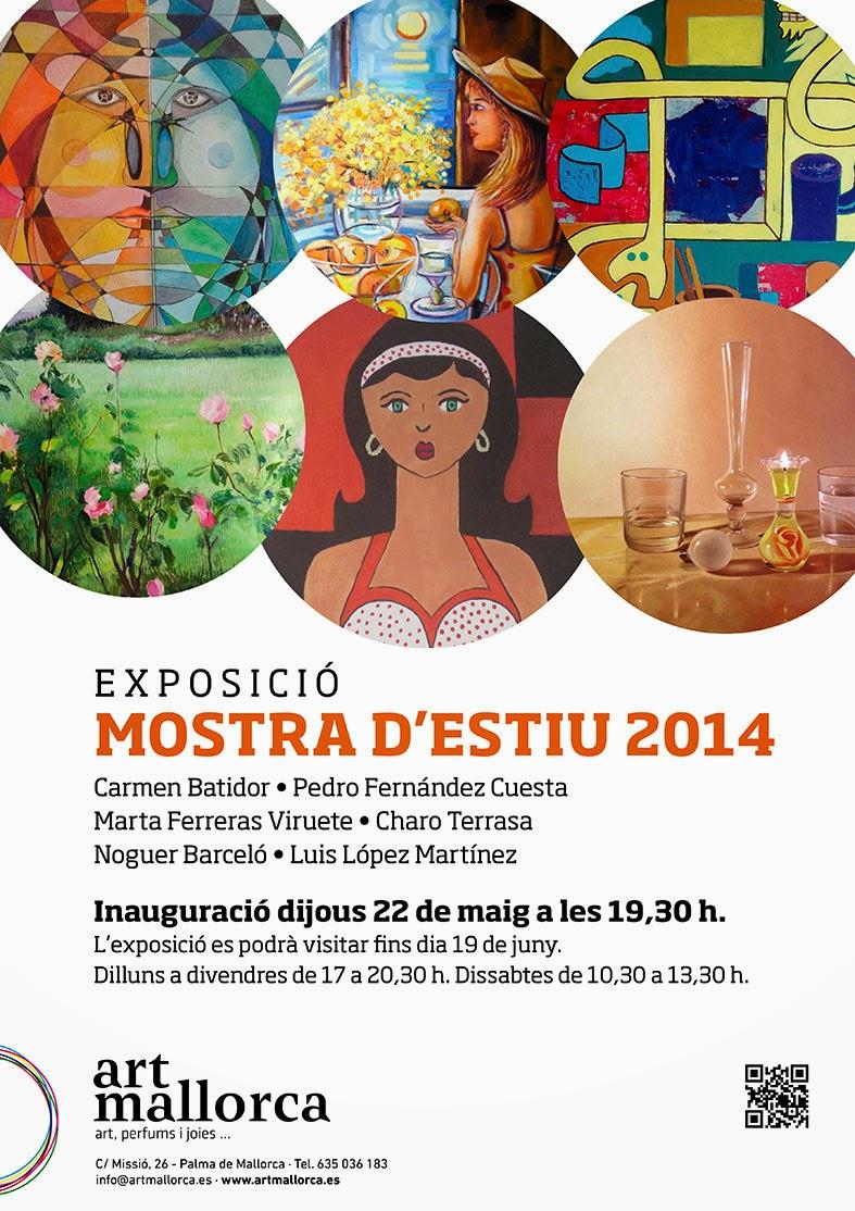 """Exposición """"Mostra d'estiu""""."""