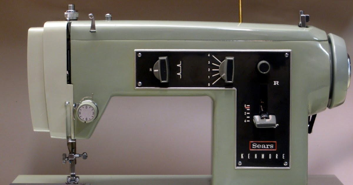 kenmore sewing machine 158 series