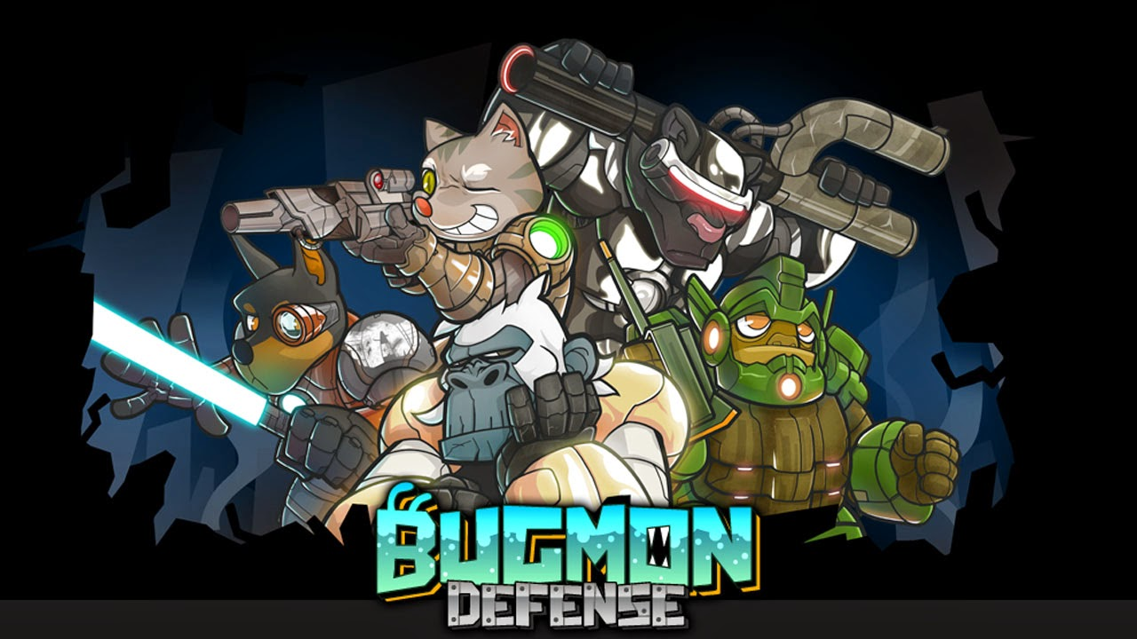Bugmon Defense Gameplay IOS / Android