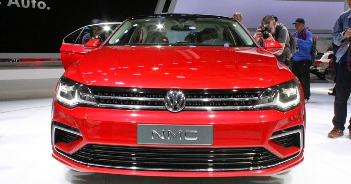 Volkswagen New Midsize Coupe Concept Beijing 2014 Photos Latest