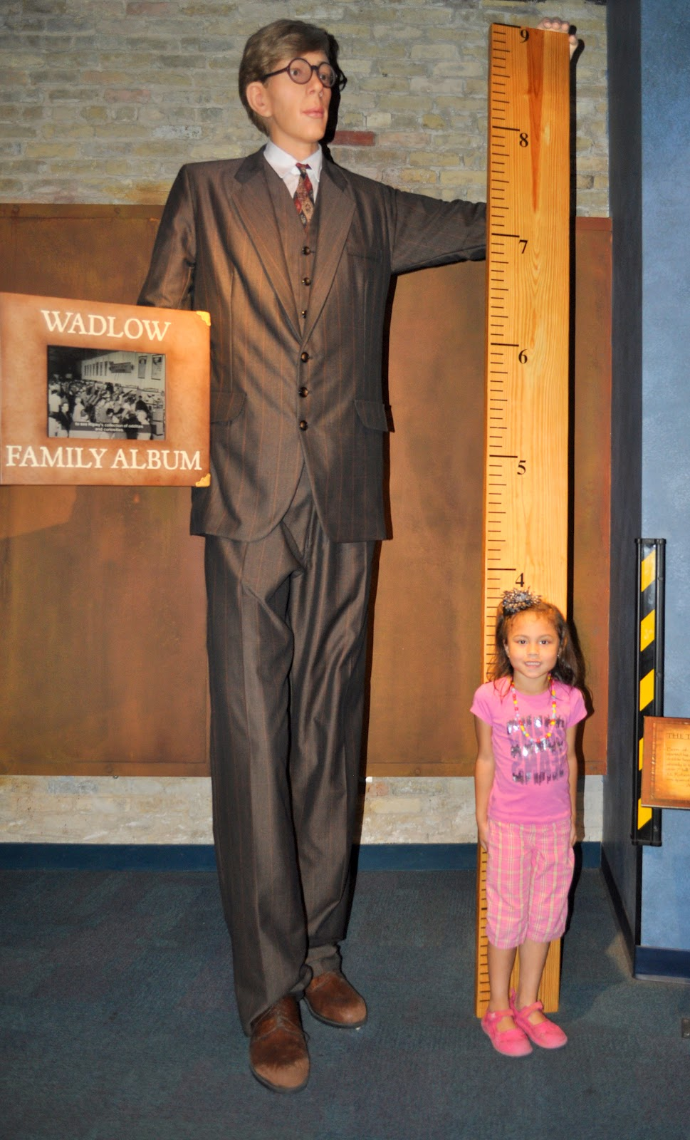 worksheet 8 Ft In Inches similiar 8 foot people keywords photos were taken during our visit to ripleys believe it or not robert wadlow feet 11 inches