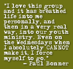 A quote from a YPA member...