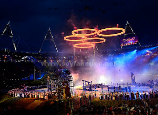 Inauguracion Juegos Olimpicos Londres 2012
