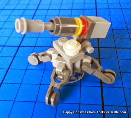 LEGO Star Wars advent calendar gun turret