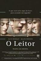 O Leitor - cartaz do filme