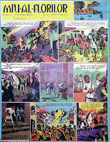 bd benzi desenate romanesti miu al florilor albin stanescu cutezatorii revista comics caricatures romania roumanie