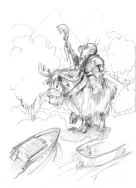Krasnoludy_Zbyszek Larwa_Wronie gniazdo_dwarves_nains_Гномы_christa,_smoki_dragons_драконы_komiks_bandes dessinées_comics