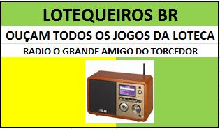 JOGOS DA LOTECA//RADIOS