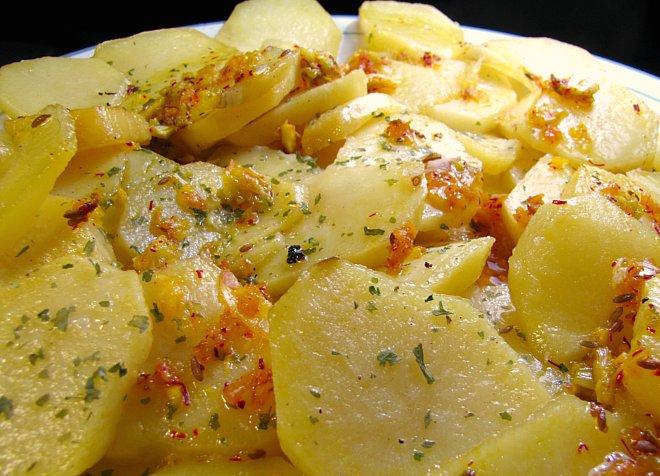 Cocina de turre hoy voy a cocinar patatas con ajo for Cocinar con 5 ingredientes