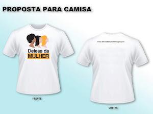Pessoal, vocês já podem adquirir a camiseta do nosso movimento.