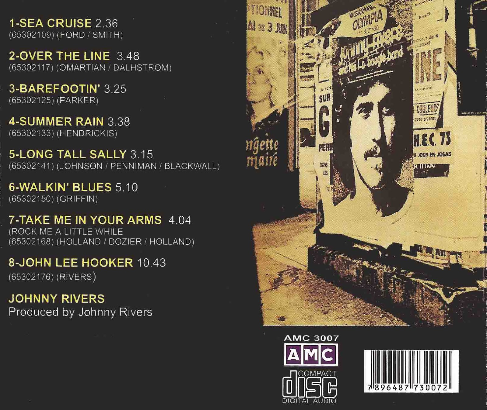 La Playa Music Oldies Johnny Rivers And L A Boogie