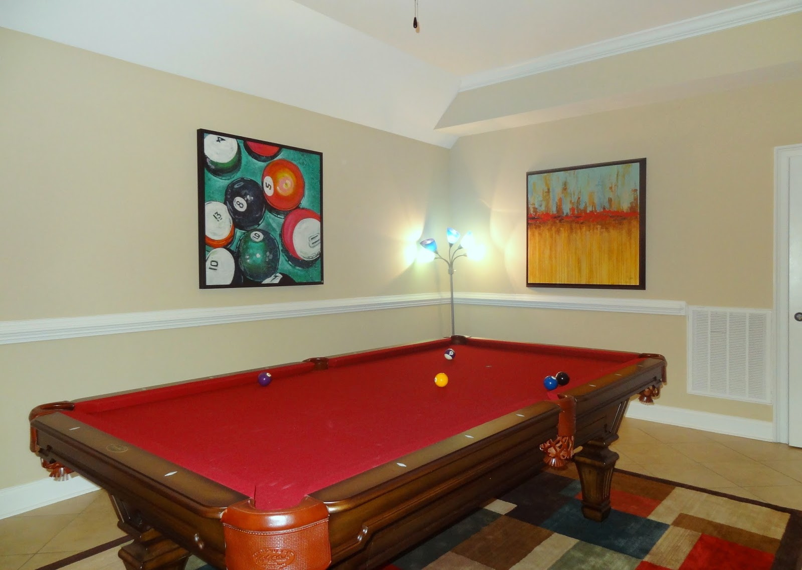 This Pool Table Made The Basement Fun For The Entire Family!