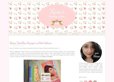 blog nisa beauty room telah di-hack