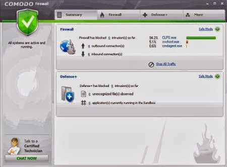 Comodo Firewall Free