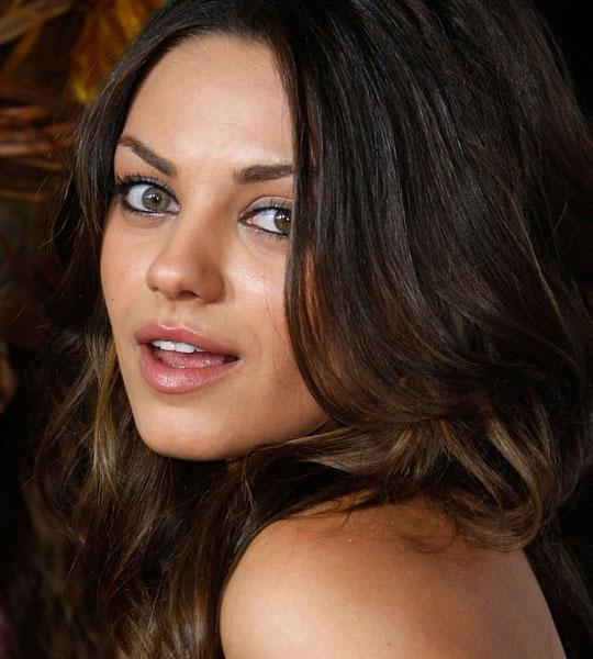 Mila Kunis Eyes Close Up Make