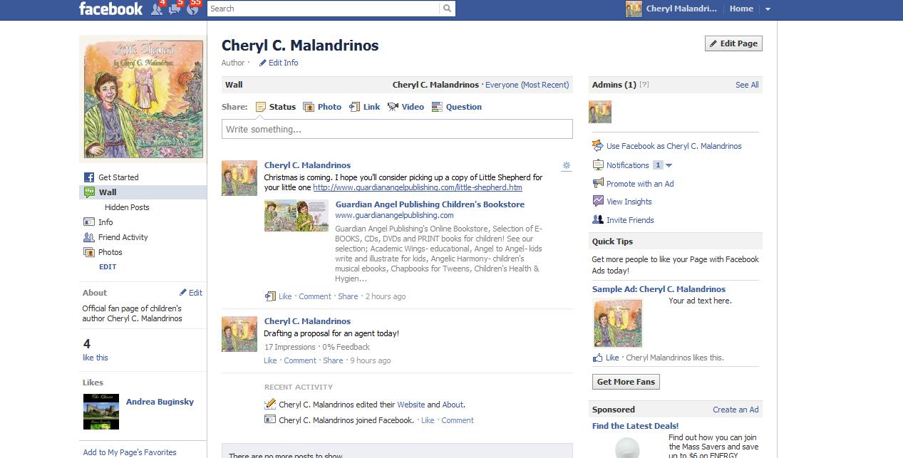 Little Shepherd : Please Like My Facebook Fan Page