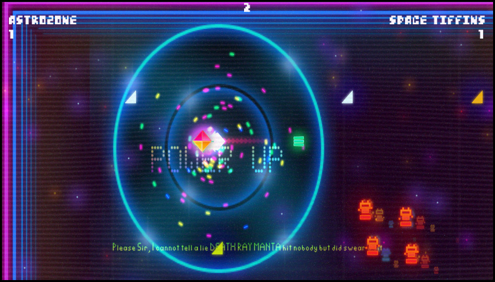 Death Ray Manta power up screenshot