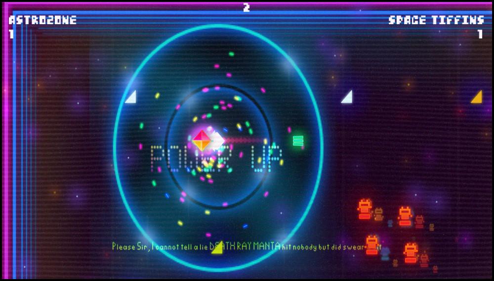 Death Ray Manta power up screenshot