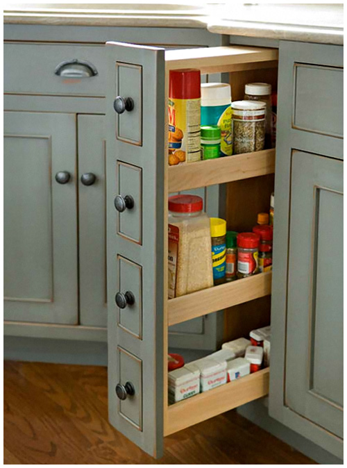Kitchen And Dining Organizational Cabinets Small Kitchen Storage