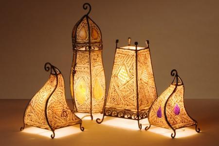 Una habitaci n marroqu ideas para decorar dise ar y - Lamparas de ambiente ...