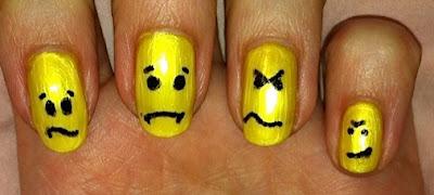 nail me, nail art, smiley, emoticon, anna