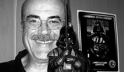 Constantino Romero, presentador, locutor, actor y actor de doblaje de voces como la de Mufasa de 'El rey León'