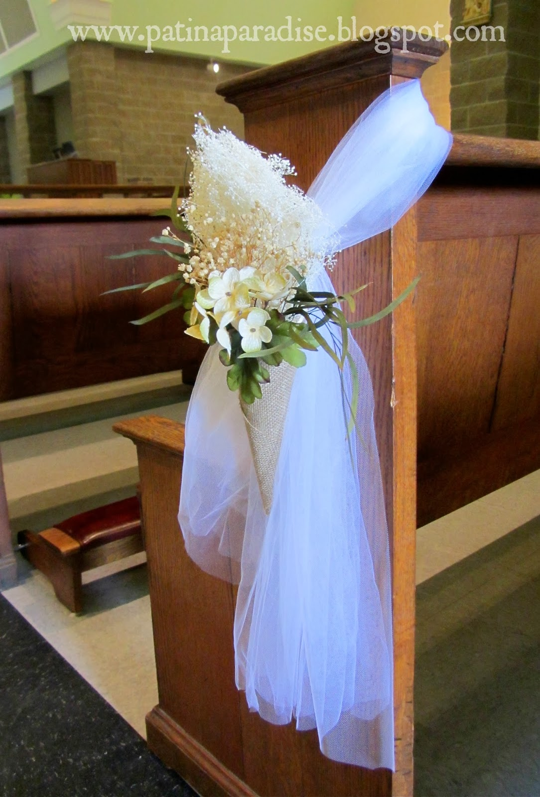 Church pew decorations for sale k 2017 for Marriage decorative items