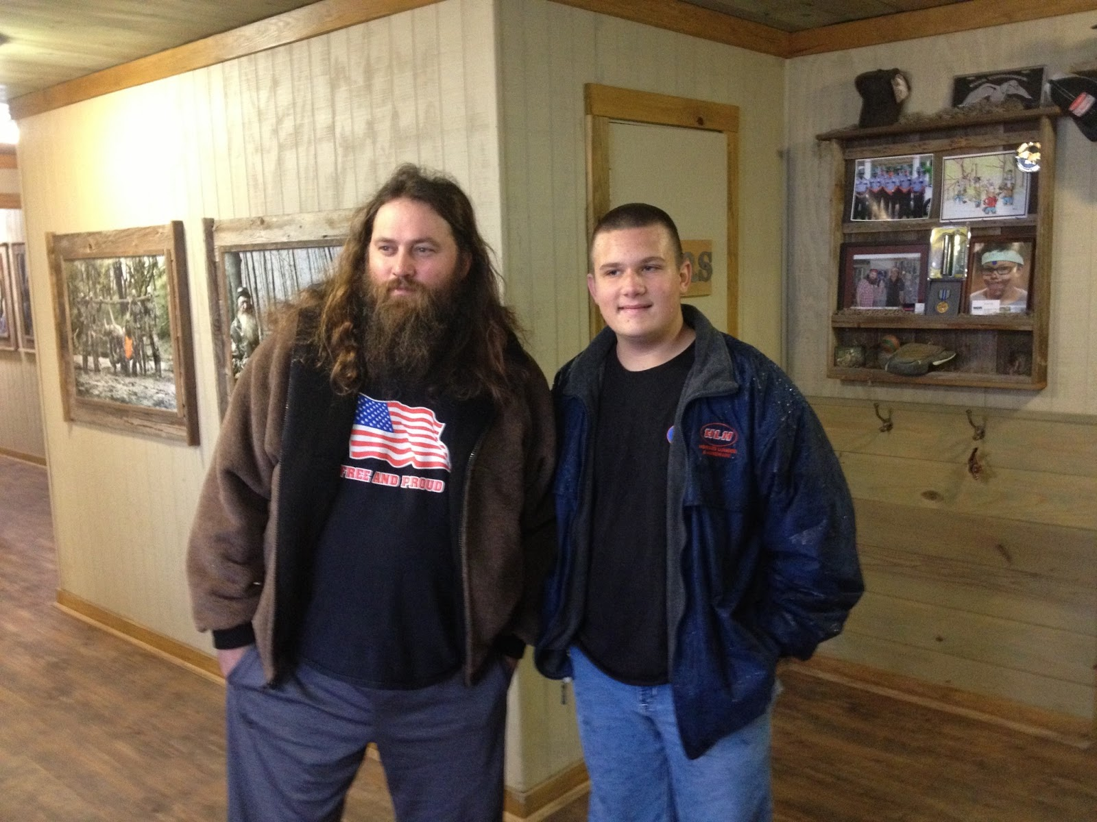 Willie Robertson and Joshua