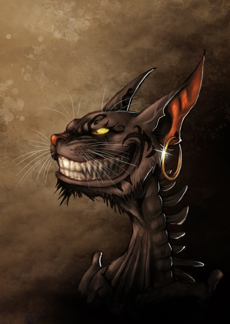 Alice madness returns - Cheshire Grin por fiszike