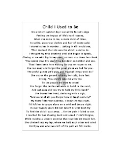 Child I Used to Be