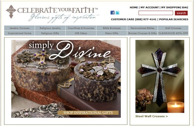 Religious Gifts by CelebrateYourFaith.com