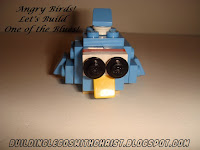 LEGO Angry Birds - One of the Blues -Instructions and Supply List,